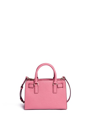 Back View - Click To Enlarge - Michael Kors - 'Dillon' small saffiano leather satchel