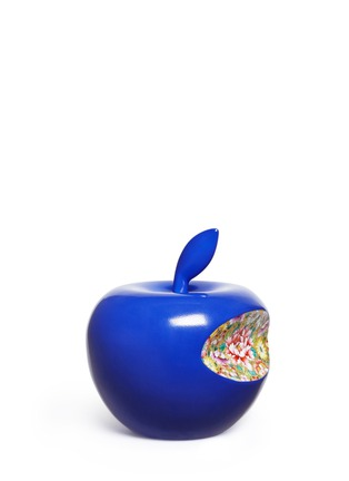 Main View - Click To Enlarge - Li Lihong - Floral bite apple sculpture