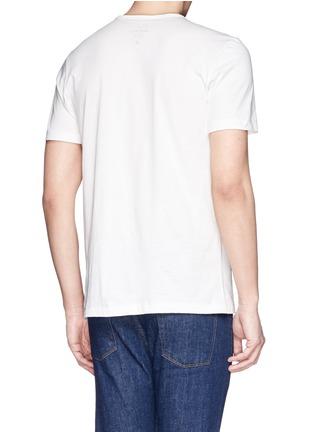 背面 - 点击放大 - PAUL SMITH JEANS - Logo pima cotton T-shirt