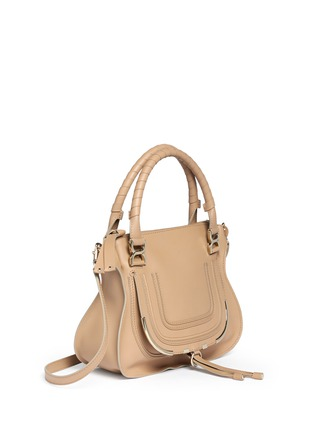 Figure View - Click To Enlarge - Chloé - 'Marcie' medium leather shoulder bag