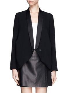 MO&CO. EDITION 10 Drape shoulder jacket