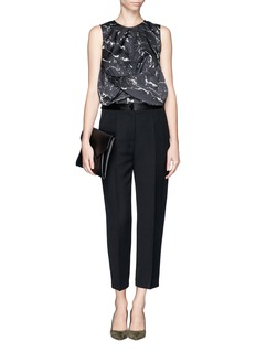 MO&CO. EDITION 10Marble Print Top