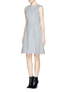 MO&CO. EDITION 10 Back flap felt dress