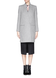 MO&CO. EDITION 10 Felted wool blend tailored coat