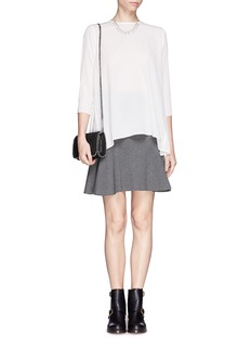 MO&CO. EDITION 10Silk back pleat top
