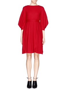 MO&CO. EDITION 10 Pleat wool dress