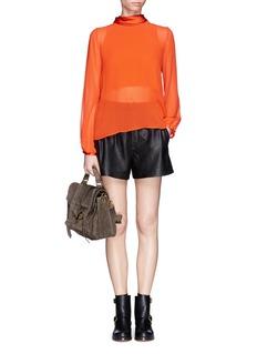 MO&CO. EDITION 10Sheer silk shirt