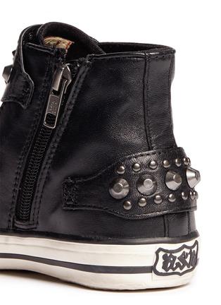 细节 - 点击放大 - ASH - FROG儿童款铆钉搭带高筒球鞋