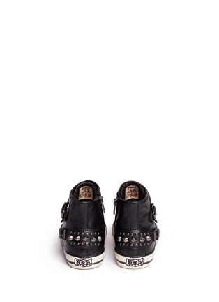 背面 - 点击放大 - Ash Kids - FROG儿童款铆钉搭带高筒球鞋