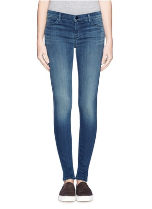 Main View - Click To Enlarge - J Brand - 'Blue Stocking' skinny jeans