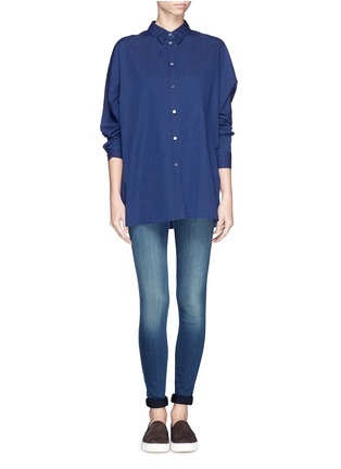 Figure View - Click To Enlarge - J Brand - 'Blue Stocking' skinny jeans