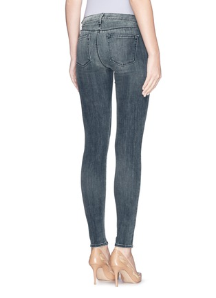 Back View - Click To Enlarge - J Brand - 'Super Skinny' mid rise jeans