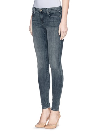 Front View - Click To Enlarge - J Brand - 'Super Skinny' mid rise jeans