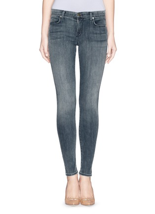 Main View - Click To Enlarge - J Brand - 'Super Skinny' mid rise jeans