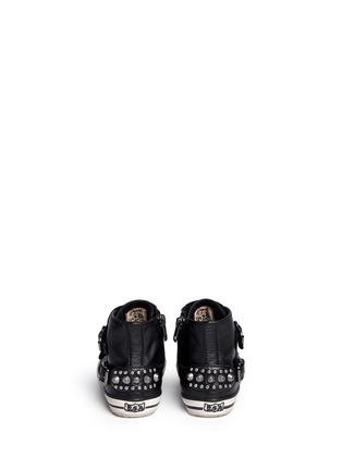 背面 - 点击放大 - ASH - Frog幼儿款铆钉搭带高筒运动鞋