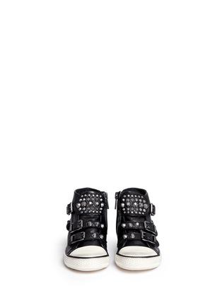 模特儿示范图 - 点击放大 - ASH - Frog幼儿款铆钉搭带高筒运动鞋