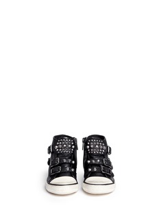ASH 'Frog' stud leather infant sneakers