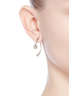 Dannijo 'Remi' Swarovski crystal jacket earrings