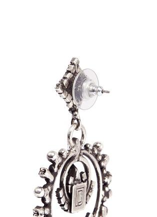 Detail View - Click To Enlarge - Dannijo - 'Rosalie' Swarovski crystal drop earrings