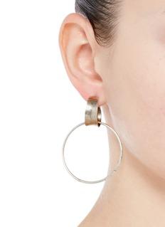 Dannijo'Tori' hoop earrings