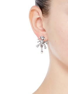 Dannijo 'Alexi' Swarovski crystal jacket earrings