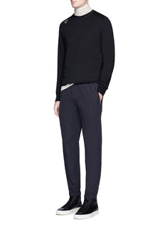 Tim Coppens Zip cuff jogging pants