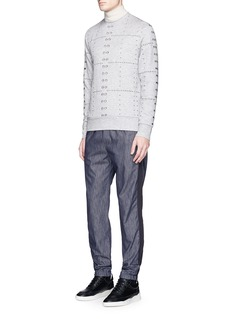Tim Coppens Eyelet sweatshirt