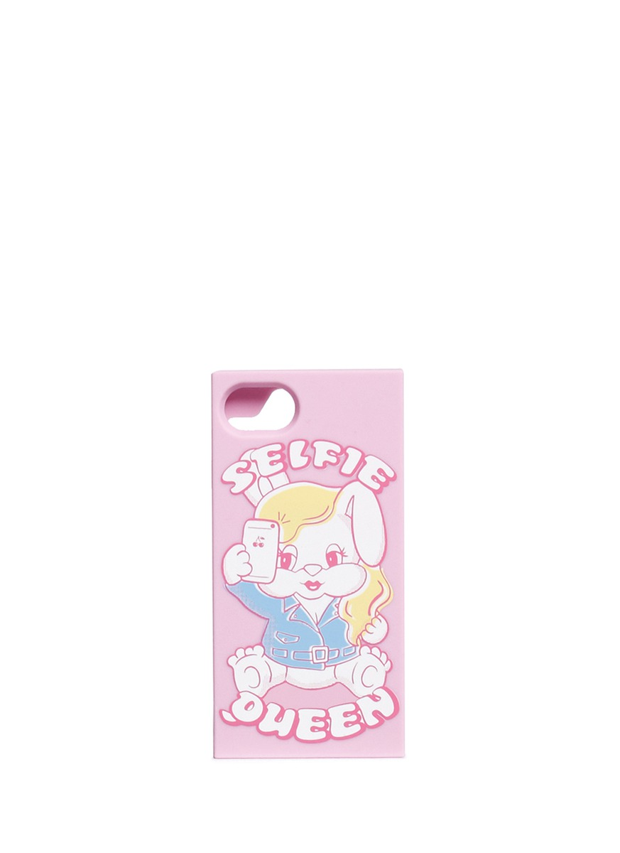 Selfie Queen iPhone 7 phone case by Ground Zero