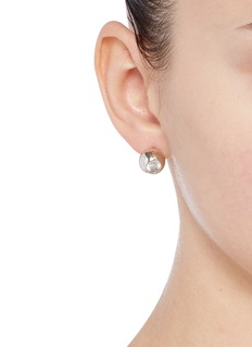 Eddie Borgo 'Voyage' cubic zirconia stud earrings