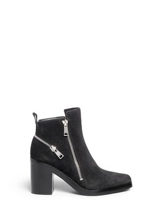 Main View - Click To Enlarge - KENZO - 'Totem' suede ankle boots