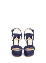 'Stanton' suede platform sandals