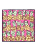 'Pineapple Bella' silk chiffon scarf
