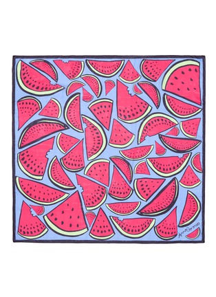 Main View - Click To Enlarge - Anna Coroneo - 'Watermelon Bella' silk chiffon scarf
