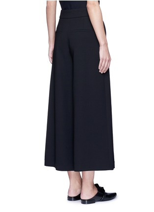 Back View - Click To Enlarge - Proenza Schouler - Belted wool culottes