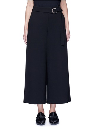 Main View - Click To Enlarge - Proenza Schouler - Belted wool culottes