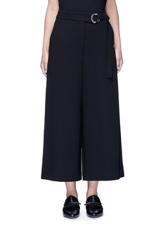 Proenza Schouler Belted wool culottes