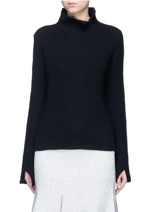 Main View - Click To Enlarge - Proenza Schouler - Wool-cashmere turtleneck sweater