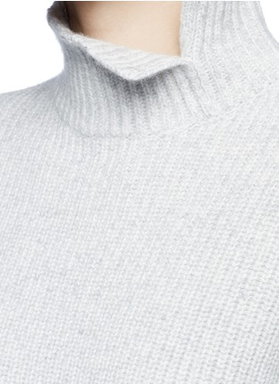Detail View - Click To Enlarge - Proenza Schouler - Wool-cashmere turtleneck sweater