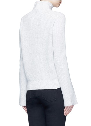 Back View - Click To Enlarge - Proenza Schouler - Wool-cashmere turtleneck sweater