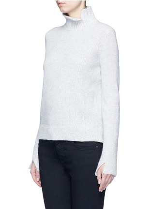Front View - Click To Enlarge - Proenza Schouler - Wool-cashmere turtleneck sweater