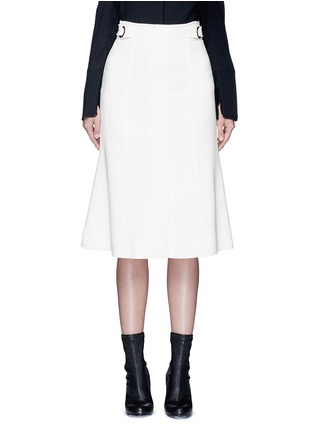 Main View - Click To Enlarge - Proenza Schouler - Belted double weave crepe skirt