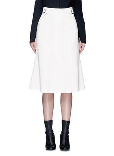 PROENZA SCHOULERBelted double weave crepe skirt