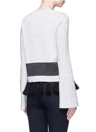 Back View - Click To Enlarge - Proenza Schouler - Fringe tassel knit sweater