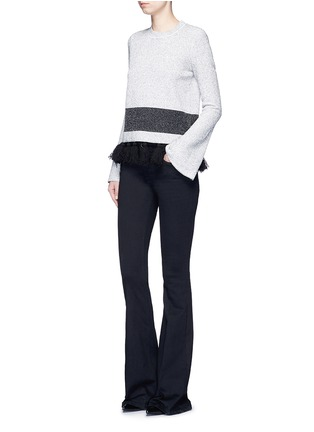 Figure View - Click To Enlarge - Proenza Schouler - Fringe tassel knit sweater
