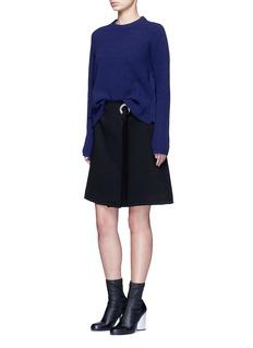 Proenza SchoulerSide sash tie wool-cashmere sweater