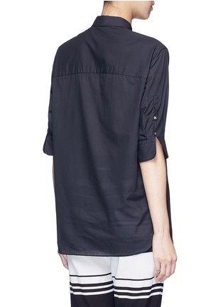 Neil Barrett - Cotton muslin shirt