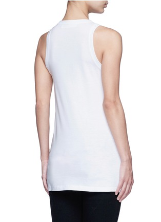 Back View - Click To Enlarge - Neil Barrett - Tattooed man statue tank top