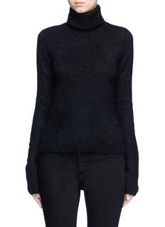 Acne Studios'Dwyn' mohair blend turtleneck sweater