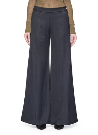 Main View - Click To Enlarge - Acne Studios - 'Melora' wide leg flared wool blend pants