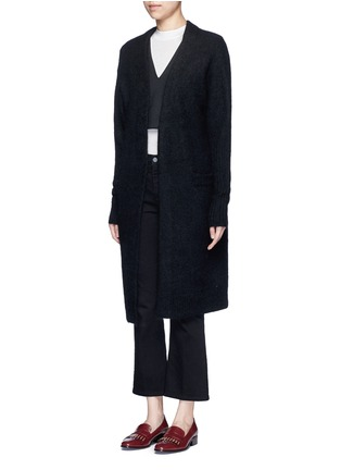 Front View - Click To Enlarge - Acne Studios - 'Raya' kimono sleeve mohair blend cardigan